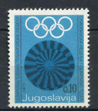 Yugoslavia 1971 SG#1465 Olympic Games Fund MNH #A62568