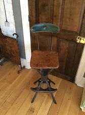 Vintage Industrial Office Loft Stool Chair Steel Factory Evertaut