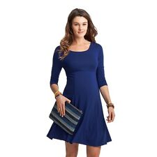 NWT - ISABELLA OLIVER Women's 'RICHMOND' Rich Navy Blue MATERNITY DRESS - 2