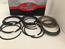 Engine Tech  CHEVY SBC  Cast Piston Rings  SBC 327 350 383 5/64 5/64 3/16