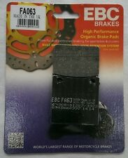 Suzuki GSXR750 (1985 to 2003) EBC Kevlar REAR Disc Brake Pads (FA63) (1 Set)