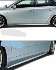 AUDI A4 B6 B7 SIDE SKIRTS S4 LOOK RS4 LOOK NEW
