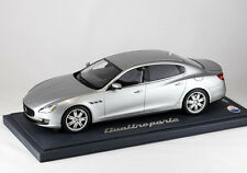 MASERATI QUATTROPORTE Silver Metallic Detroit Motorshow Press Version BBR P1861D
