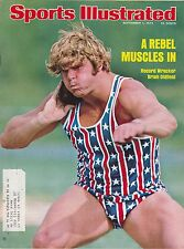 SEPTEMBER 1, 1975 SPORTS ILLUSTRATED BRIAN OLDFIELD TRACK AND FIELD SHOT PUT