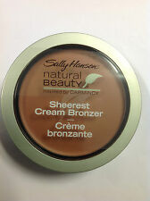 Sally Hansen Natural Beauty Sheerest Cream Bronzer #1020-05 Havana Glow Medium.