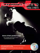 "Play Guitar with"" U2"" 1984 - 1987, U2, New Book"
