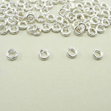 Fashion 500Pcs Gold & Silver Plated Metal Mini Jump Rings 4,5,6,8,10,12,14mm