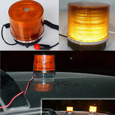 Portable Emergency Warning Amber Strobe Beacon Light Magnetic Mount Snow Plow