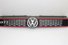 VW Polo 6R GTI honeycomb grille Red Sport front radiator Grill Grille