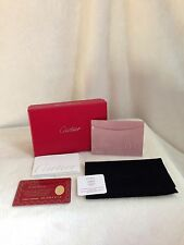 Cartier HAPPY BIRTHDAY Pink Card Case - NEW IN BOX!!