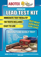 LEAD INSPECTOR LEAD TEST KIT | Test Toys, Paint, Water, Ceramics | 100 Pk Abotex