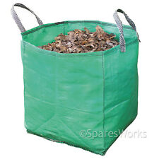 Large Garden Waste Recycling Tip Bags Heavy Duty Non Tear Woven Plastic Sack
