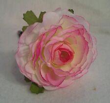 Flower Pen--Pink & White Carnation--Black Ink--NEW