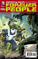 Infinity Man And The Forever People #2 (NM)`14 Didio/ Giffen/ Koblish