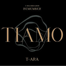 T-ARA-[REMEMBER] 12th Mini Album TIARA CD+POSTER+Photo Book+Card K-POP Sealed
