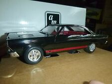 AMT 1966 FORD FAIRLANE GT/A RAVEN BLACK PROMO 1/25 MODEL CAR MOUNTAIN