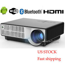 5000 Lumens 1920*1080 Home Theater Android WIFI TV HDMI USB LED Projector FHD