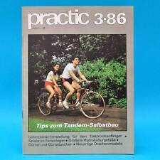 DDR practic 3/1986 Tandem Drachenbau Wurfscheibe Lichtkasten Hydrogefäße A
