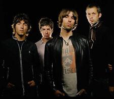 Noel and Liam Gallagher, Paul Arthurs & Paul McGuigan photo - D1261 - Oasis