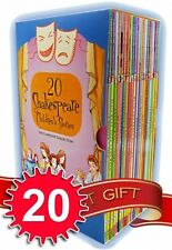 Shakespeare Childrens Stories 20 Books Box Complete Collection Set Young Junior