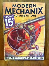 MODERN MECHANIX MAGAZINE & INVENTIONS MARCH 1933 - 1000 WAYS TO MAKE A LIVING