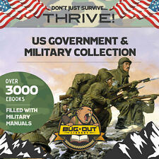 U.S. MILITARY & GOVERNMENT MANUALS  3000 + complete manuals; Special Ops, Guns..