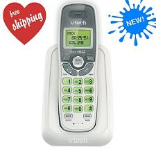Cordless Vtech Phone Caller ID/Waiting Handset White Wall Mount Superior Quality