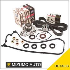 Fit 92-95 Honda Civic Del Sol D16Z6Timing Belt Water Pump Kit Valve Cover