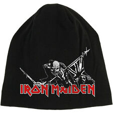 Iron Maiden Men's The Trooper Beanie Black