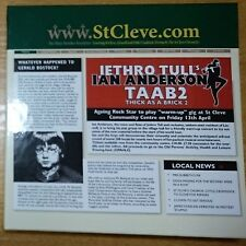 Jethro Tull`s Ian Anderson - Thick As A Brick-2 CD+DVD Promo Box (Japan) NEW