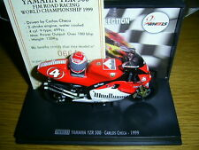 Carlos Checa YZR500 1999 1:24 Model with Helmet