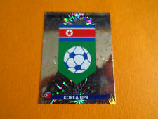 506 BADGE COREE NORD DPR PANINI FOOTBALL FIFA WORLD CUP 2010 COUPE DU MONDE