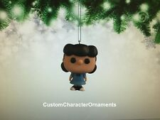 NEW! Custom Made Funko Mini Pop Peanuts Lucy Figure Christmas Holiday Ornament