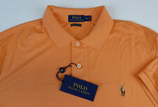 Polo Ralph Lauren SS Pima Soft Touch Cotton Polo Shirt w/ Multi Pony $85-$98 NWT