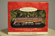Hallmark - 746 Norfolk & Western Steam Locomotive - 4th in Series Ornament