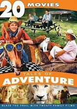 Tales of Adventure - 20 Movie Collection, Good DVD, Bob Hope, Roy Rogers, Kirk D
