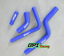 silicone radiator coolant hose BLUE FOR Suzuki RMZ250/RM-Z250 2004 2005 2006