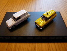 DUO voitures 1/87 HO universal Hobbies citroën : ami 6 break tolée
