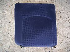 PEUGEOT 206 O/S/R REAR SEAT BACK CUSHION BLUE OFF 2003 YEAR 3 DR