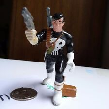 The Punisher inaction action figure molded PVC plastic with guns Marvel Universe