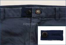 Blue Pants Shorts Skirt Jeans Trouser Waist Line Extender Widen Expand Button