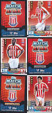 MATCH ATTAX 14/15 Crouch STOKE CITY Card No.270 FREE POSTAGE