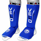 VELO Shin Instep Pads MMA Leg Foot Guards Muay thai Kick Boxing Guard Protector