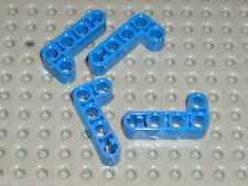 LEGO TECHNIC blue liftarm beam 2x4 ref 32140 /set 8081 8068 8273 8052 8/038 8421