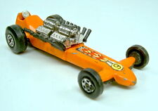 Matchbox Superfast nº 64b Slingshot dragster rare color naranja
