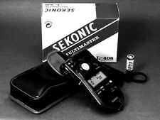 SEKONIC L-408 MULTIMASTER EXPOSURE METER