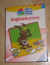 ★ RAVENSBURGER ★ Mein Lern-Spiel-Haus: Englischspiele ★