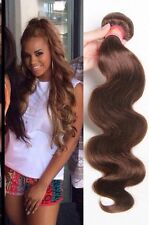 300g 8A peruvian bodywave human hair 20inches brown color uk