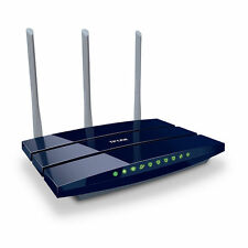 TP-Link TL-WR1043ND V3. 450 Mbps 4-Port Gigabit Wireless N WLAN Router - NEU