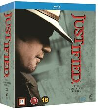 Justified: The Complete Series Seasons 1-6 (Region Free) Blu Ray